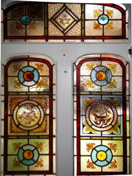 victorian Stained Glass-V202