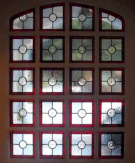 victorian Stained Glass-V203
