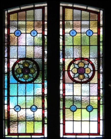 victorian Stained Glass-V204