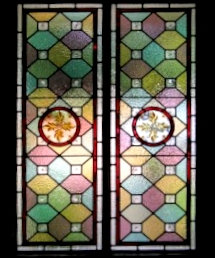 victorian Stained Glass-V205