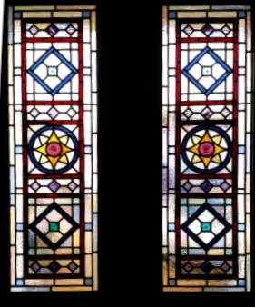 Victorian Stained Glass-V206