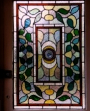 victorian Stained Glass-V207