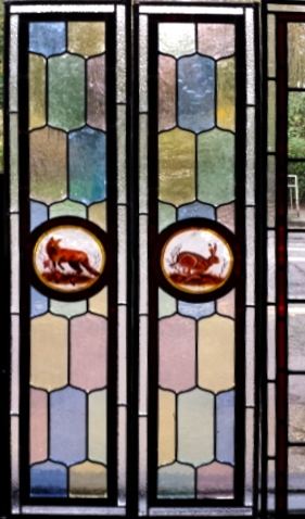 Victorian Stained Glass-V208