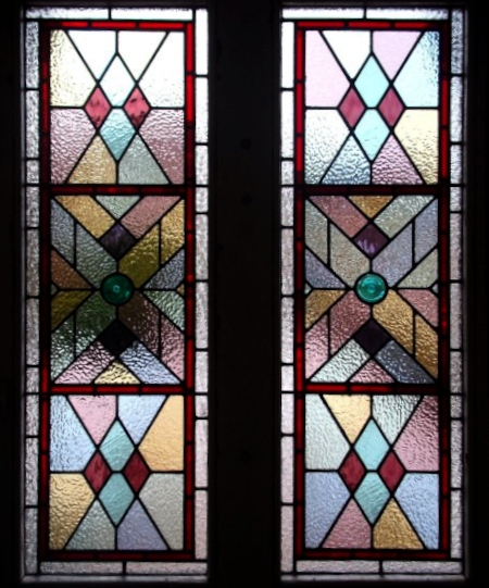 victorian Stained Glass-V209