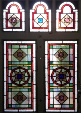 Victorian Stained Glass-V210