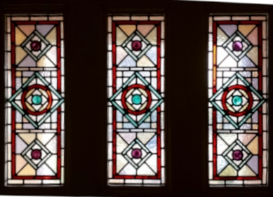 Victorian Stained Glass-V211