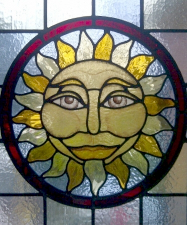 Victorian Stained Glass-V213