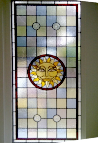 Victorian Stained Glass-V214