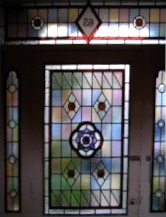 victorian Stained Glass-V215