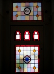 victorian Stained Glass-V216