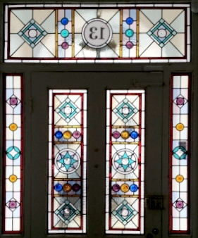 Victorian Stained Glass-V217
