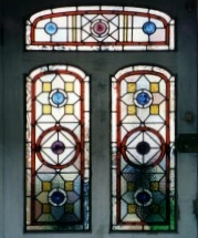 victorian Stained Glass-V220