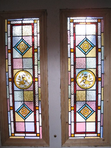 Victorian Stained Glass Coriander Stained Glass