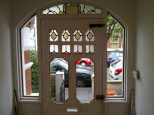 Coriander Stained Glass Edwardian Entrance