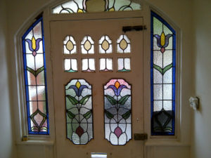 Coriander Stained Glass Front Entrance 2