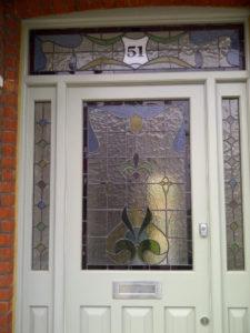 Coriander Stained Glass Edwardian work 2