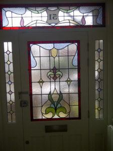Coriander Stained Glass Edwardian work