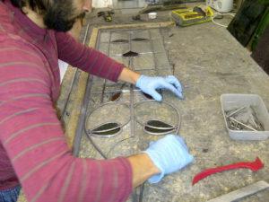 Coriander Stained Glass Edwardian Renovation