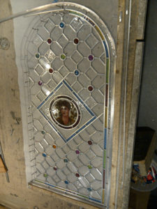 Victorian stained glass gems