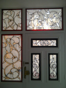 Stained Glass Art Nouveau 3
