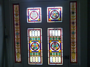 Victorian Stained Glass in Ealing (1)
