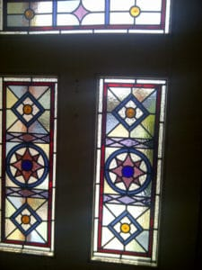 Victorian Geometric Stained Glass 2