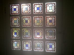 Victorian Geometric Stained Glass 9
