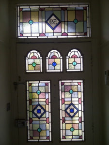 Victorian Geometric Stained Glass 7