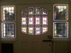 Victorian Geometric Stained Glass 6
