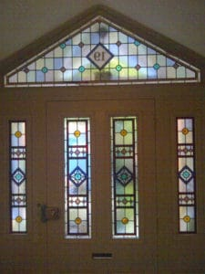 Victorian Geometric Stained Glass 5