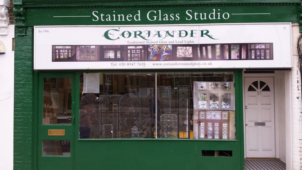 Coriander Stained Glass Studio Wimbledon