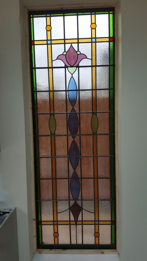 Art deco 1930 39 s stained glass coriander stained glass for 1930s stained glass window designs