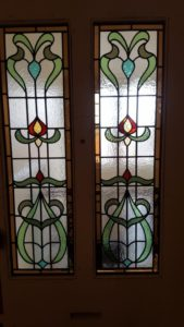 Edwardian/Art Nouveau Stained Glass